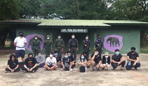 รวบ 14 คนไทยลอบเข้าเมืองผ่านช่องทางธรรมชาติ จ.สระแก้ว เชื่อทำงานบ่อนพนันออนไลน์ในกัมพูชาเกี่ยวข้องเสี่ยคนดัง