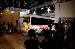 เอาจริง! ตำรวจฮ่องกงจับ 4 นักศึกษาฐานละเมิด 'กฎหมายความมั่นคง'