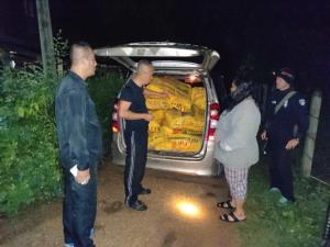 ทหาร-ตำรวจอุบลฯ จับล็อตมหึมา สาวขนยาไอซ์กว่า 400 กก.ลงภาคใต้