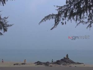 สงขลาอากาศปิดหมอกหนา จากผลพวงพายุซินลากู กระทบการเดินเรือ-ท่องเที่ยว