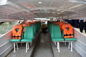 ทดลองเรือไฟฟ้า! ไร้เสียง ไร้ควัน กรมเจ้าท่าเร่งประเมินความปลอดภัยและต้นทุน