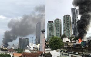 ไหม้รับอรุณ! ไฟไหม้บ้านประชาชน ซ.เจริญกรุง 73/1 ล่าสุดเพลิงสงบแล้ว