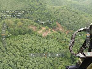 บินตรวจป่าสงวน-อุทยานฯ เขาน้ำค้าง อ.นาทวี พบป่าถูกบุกรุกใหม่ 6 จุด จ่อเดินเท้าเข้ายึดคืน