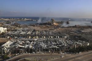 'เบรุต' ดับสยองกว่า 100 เจ็บหลายพัน คนไร้ที่อยู่ 3 แสน หลังโกดังแอมโมเนียมไนเตรตระเบิด รุนแรงเท่าแผ่นดินไหว 3.3 แมกนิจูด