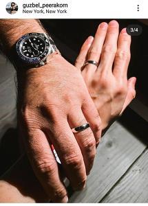 """มงลง! """"กัสเบล"""" ถูกแฟนหนุ่มชาวต่างชาติขอแต่งงาน ให้แหวนสลักชื่อแทนใจ"""
