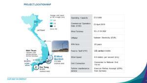 บ้านปูฯ เข้าซื้อโรงไฟฟ้าพลังงานลม El Wind Mui Dinh ในเวียดนาม  มุ่งเน้นการบริหารกระแสเงินสด ลงทุนระยะยาว