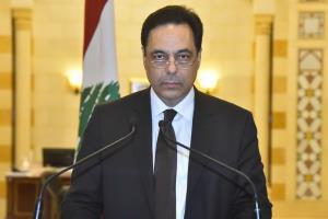นายกรัฐมนตรี ฮัสซัน ดิอาบ แห่งเลบานอน