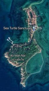 ภาพถ่ายทางอากาศเกาะมันใน จาก เฟซบุ๊ก Thon Thamrongnawasawat