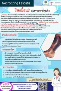 """แพทย์เตือนภัย """"โรคเนื้อเน่าหรือแบคทีเรียกินเนื้อคน"""" ระบาดหนักช่วงหน้าฝน หากติดเชื้อ-รักษาไม่ถูกต้อง อาจเสียชีวิตได้"""