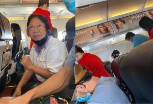 ชื่นชมอดีตพยาบาล! เข้าช่วยเหลือผู้โดยสารอาการชักเกร็งบนเครื่องบิน