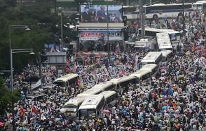 เกาหลีใต้พบเคสใหม่หลักร้อย 7 วันซ้อน หวั่นม็อบไล่รัฐบาลทำระบาดทั่วประเทศ