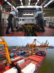 เศรษฐกิจไทยครึ่งปีแรก ติดลบต่อเนื่อง 2 ไตรมาส
