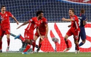 """""""โคมอง"""" โขกปลิดชีพ 1-0 """"เสือใต้"""" เจ้ายุโรปสมัย 6 ดับฝัน PSG"""