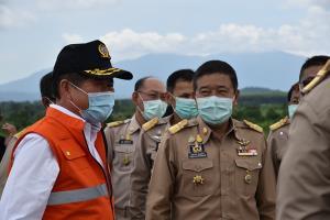 มหาดไทยส่ง รมช.ลงพื้นที่จันทบุรี-ระยองดูการแก้ไขปัญหาขาดแคลนน้ำ-น้ัำท่วม
