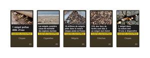 """ไอเดียบรรเจิด! เพิ่มภาพคำเตือนบนซองบุหรี่เป็น """"มลพิษของก้นบุหรี่ต่อสิ่งแวดล้อม"""""""