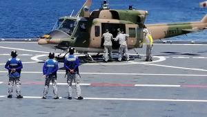 กองทัพเรือ ร่วม ศรชล.จัดฝึกภาคสนาม-ภาคทะเล เน้นการฝึกสกัดกั้นการลักลอบขนส่งสารกัมมันตภาพรังสี
