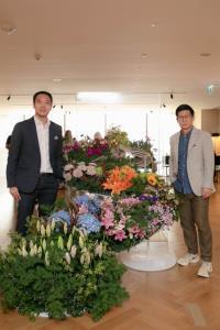"""ฉลอง 2 ปี """"ปัญญ์ปุริ เวลเนส"""" เนรมิตศิลปะดอกไม้โดยฝีมือศิลปินไทย """"นรภัทร ศักดิ์อาธรทรัพย์"""""""