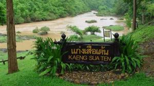 น้ำท่วมสุโขทัย โชคดีไม่มีเขื่อนแก่งเสือเต้น