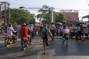 พม่าพบผู้ติดเชื้อโควิดรายใหม่วันเดียวพุ่งพรวด 70 ราย