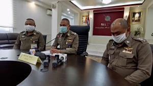 สั่งย้ายเข้ากรุรอสอบข้อเท็จจริง ปมคลิปฉาวนายตำรวจนั่งเขย่าไฮโล