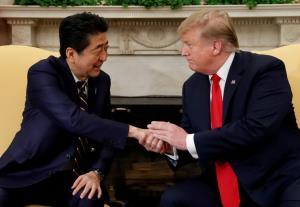 'ทรัมป์' แสดงความเคารพสูงสุดต่อ 'อาเบะ' หลังสละเก้าอี้นายกฯ ญี่ปุ่น