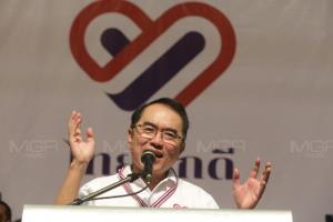 """""""วรงค์"""" แจงเป้าหมายไทยภักดีให้ความรู้ ปชช.ชี้ ปัญหามาจากนักการเมืองต้องปรับไม่ใช่สถาบัน"""