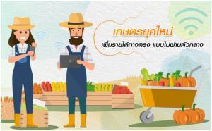 เพิ่มรายได้ด้วยอินเทอร์เน็ต...ผู้ช่วยเกษตรกรยุคใหม่
