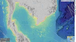แผนที่ความลึกของอ่าวไทย เรือดำน้ำจะดำไปได้ลึกแค่ไหน และจำเป็นแค่ไหน?