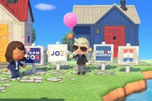 """ผู้ชิงปธน.สหรัฐ """"ไบเดน"""" ใช้เกม Animal Crossing ช่วยหาเสียง"""