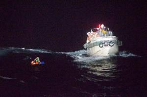 ระทึก! ยามฝั่งญี่ปุ่นช่วยชีวิตลูกเรือสินค้านิวซีแลนด์ หลังเจอ 'ไต้ฝุ่นไมสัก' ซัดอับปางกลางทะเล