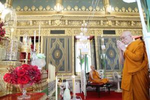 สมเด็จพระสังฆราช ทรงประกอบพิธีพุทธาภิเษก-มังคลาภิเษกปูชนียมงคลวัตถุ 150 ปี วัดราชบพิธฯ