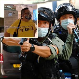 In Clip: นักเคลื่อนไหวเรียกร้องเสรีภาพฮ่องกงชื่อดังถูกจับฐานพูดปลุกระดม ตำรวจเริ่มยิงกระสุนพริกไทยใส่ผู้ประท้วงที่มงก๊ก