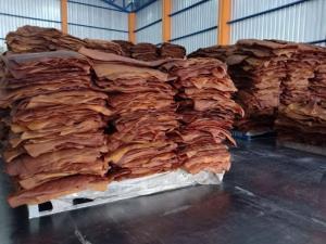 ยางแผ่นรมควัน ที่เตรียมส่งเข้าโรงงานแปรรูปยางพารา