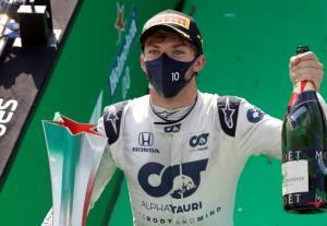 """เรซสุดมันแห่งปี """"กาสลี"""" หักปากกาเซียนปลดล็อกแชมป์ F1 ที่มอนซ่า"""