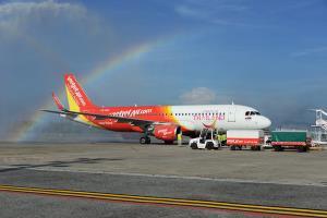 """""""ไทยเวียตเจ็ท"""" จัดโปรฯ บินทั่วไทย เริ่มต้น 50 บาท ฉลองเปิดเส้นทางบินใหม่สู่อุบลฯ"""