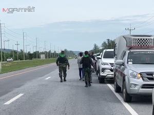 เผย 15 ชีวิตต้องวิ่งหนีตายท่ามกลางเสียงปืน หลังพาครอบครัวเที่ยวทะเลเทพาก่อนเกิดเหตุปะทะ