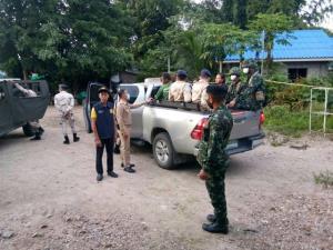 หน่วยเฉพาะกิจทัพพระยาเสือบุกจับต่างด้าว 9 คนหนีเข้าเมือง กักตัวตรวจโรคโควิด-19