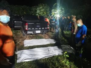 หนุ่มขับรถส่งของหึงโหด แทงแฟนสาวดับผูกคอตายตามกลางป่ามันสำปะหลัง