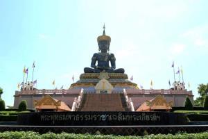 พระพุทธมหาธรรมราชาองค์ใหญ่ ที่พุทธอุทยานเพชบุระ