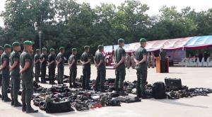 ผบช.ภ.5 นำหน่วย SWAT 8 จว.ภาคเหนือติวเข้มรับภารกิจถวายความปลอดภัยพระมหากษัตริย์ฯ