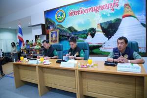 """รมว.ทส.ลงพื้นที่ 3 จังหวัด สะท้อนปัญหาพร้อมขับเคลื่อนไทยไปด้วยกัน """"ปลัดจตุพร"""" เล็งขยายผลแก้ไขปัญหาทั่วประเทศ"""
