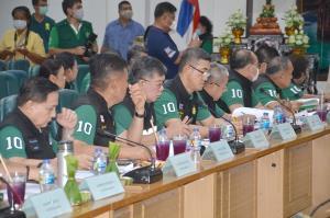 """กระทรวงทรัพย์จับมือ จ.กาญจน์หารือ """"รวมไทยสร้างชาติ"""" ขับเคลื่อนไทยไปด้วยกันระดับพื้นที่"""