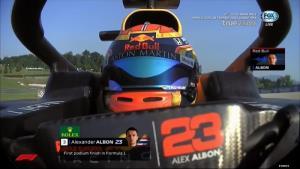 """วันที่คนไทยรอคอย """"อัลบอน"""" ขึ้นโพเดียม F1 ครั้งแรกในชีวิตที่อิตาลี"""