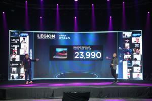 กระหึ่ม Lenovo Legion ทางเลือกใหม่ชิป AMD คู่ IdeaPad Gaming 3 ราคาเริ่ม 23,990 บาท