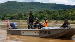 ทหารเรือลาดตระเวนเข้มสกัดแรงงานเถื่อนลอบเข้าไทยผ่านแม่น้ำโขง