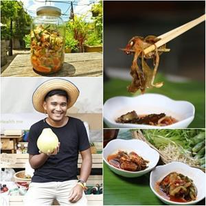 """'สามพรานโมเดล อะคาเดมี่' สอนทำ """"กิมจิผักออร์แกนิก"""" สูตรคนไทยรสชาติเกาหลี"""