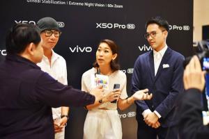 ธาดา วารีช จูงมือ กรัชเพชร อิสสระ แชร์ความประทับใจ Vivo X50 Pro 5G