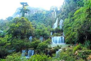 น้ำตกทีลอซู อ.อุ้มผาง น้ำตกที่ได้ชื่อว่ายิ่งใหญ่สวยงามที่สุดในเมืองไทย