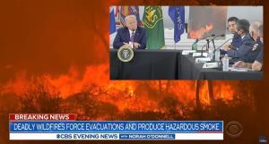 """In Clip: ควันไฟป่าแคลิฟอร์เนียลามถึง """"ดีซี"""" มูลค่าความเสียหายทางเศรษฐกิจแตะเกือบ 150 พันล้านดอลลาร์"""
