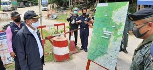 ผู้ว่าฯ ประจวบฯ สั่งตรึงกำลังเข้มแนวชายแดนไทย-พม่า หลังการแพร่ระบาดโควิด-19 ที่ จ.มะริด รุนแรง